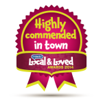 Highly Commended in Town 2014